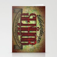 lettering Stationery Cards featuring Lettering by MarcosDevelop