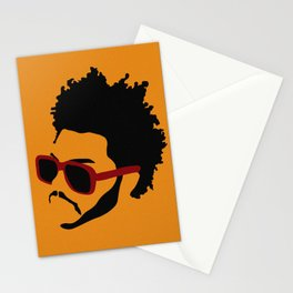blinding lights: yellow Stationery Cards