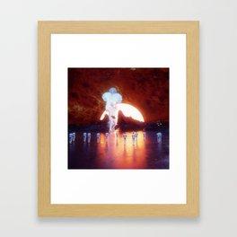 BULK SULK Framed Art Print