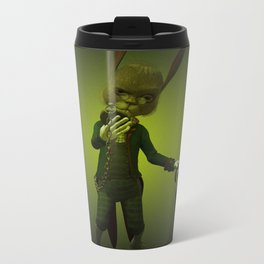 Hare o' Clock Metal Travel Mug