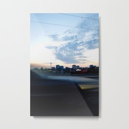 berlin is passing by Metal Print