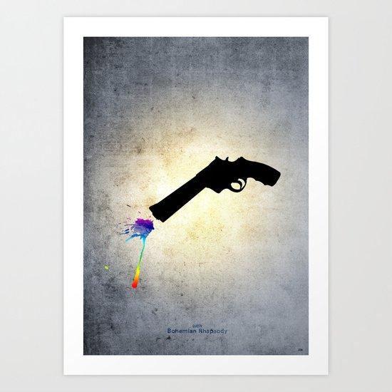 Bohemian Rhapsody Art Print