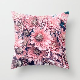 Flower | Photography | Pink Blossoms | Spring | Pattern Throw Pillow