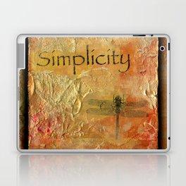 Simplicity by Kathy Morton Stanion Laptop & iPad Skin