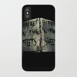 Walker in the Streets, Biter in the Sheets iPhone Case