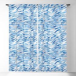 Winter Tiger Print Blackout Curtain