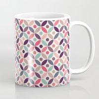 batik Mugs featuring Batik Kawung by Mamoizelle