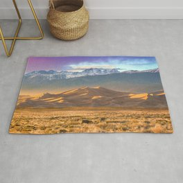 Deer and the Dunes Rug