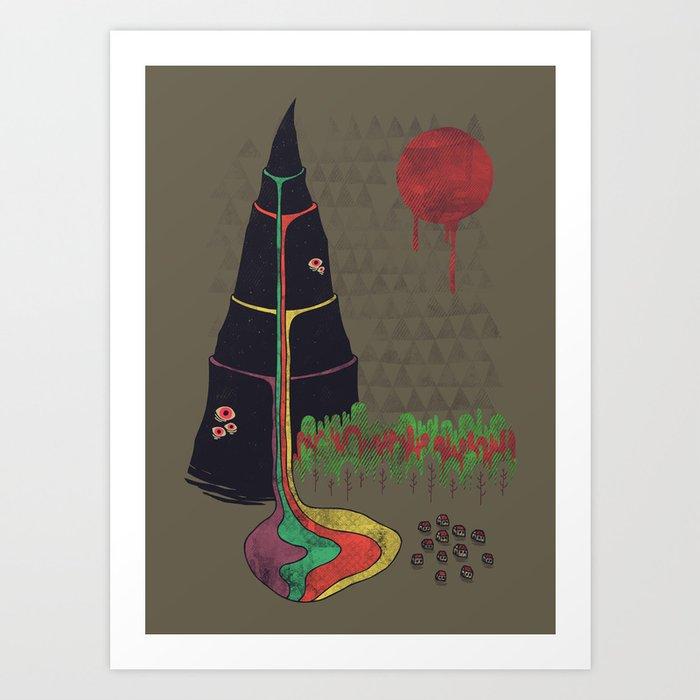 Holy Mountain Art Print