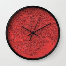 Venezia Rosso Wall Clock