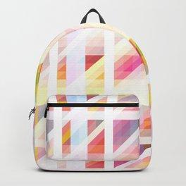 colorful threedimensional retro redcap Backpack