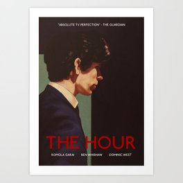 Freddie Lyon (The Hour) Art Print