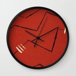 labyrinthine Wall Clock