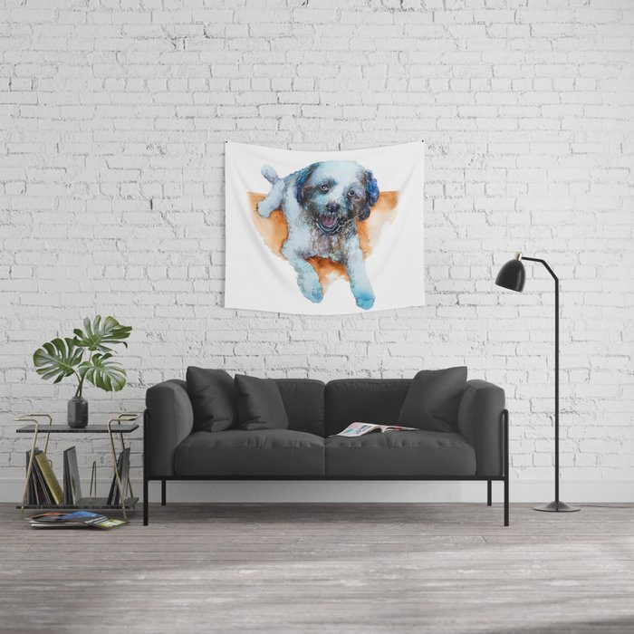 DOG#17 Wall Tapestry