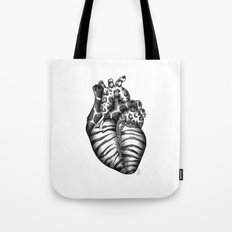 Heart gone wild Tote Bag