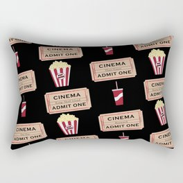 Let's Go to the Movie theatre Rectangular Pillow