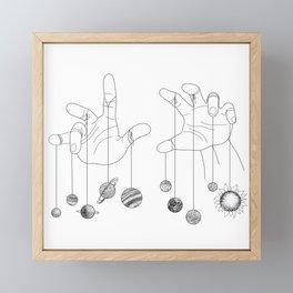 Solar System II Framed Mini Art Print