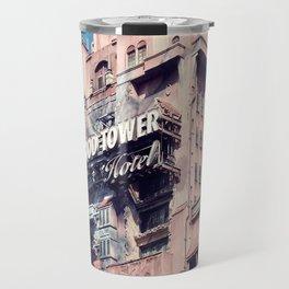 Haunted Hotel Architecture Closeup Travel Mug