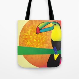 Toucan -Yellow Tote Bag