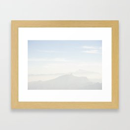 Mountainscape by Boone Speed Framed Art Print