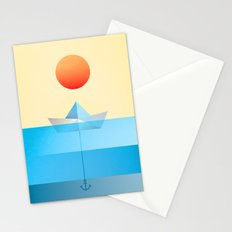 Paper Boat Stationery Cards