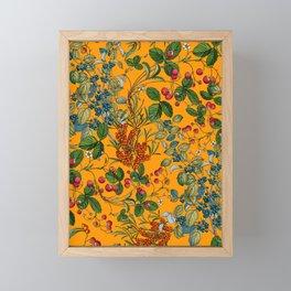 Vintage Garden VII Framed Mini Art Print