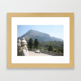 Hong Kong - Big Buddha Framed Art Print