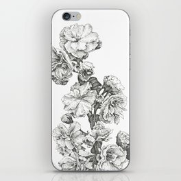 Flower Study iPhone Skin
