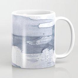 Dark gray nebulous watercolor painting Coffee Mug