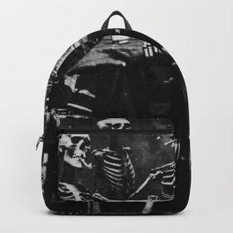 Six Skeletons Smoking Backpack