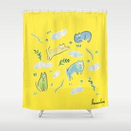 sunday mood Shower Curtain
