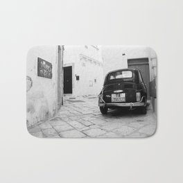 Time travel in Martina Franca Bath Mat