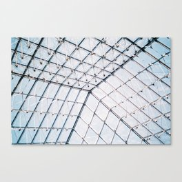 Inside of the Pyramid Canvas Print