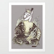 harder they fall Art Print