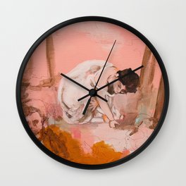 The Picnic (a Manet study) Wall Clock