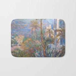 Claude Monet - Villas at Bordighera Bath Mat