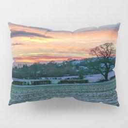 Sunset & Snow Pillow Sham