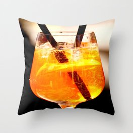 Cheers! Cocktail Drink #decor #society6 Throw Pillow