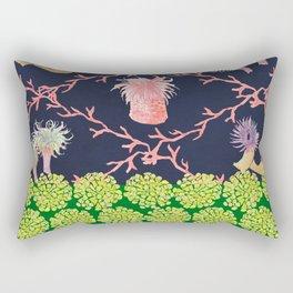 Sea Anemone Rectangular Pillow