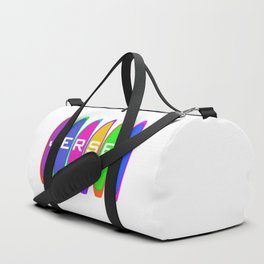 Jersey Surfboards on the Beach Duffle Bag
