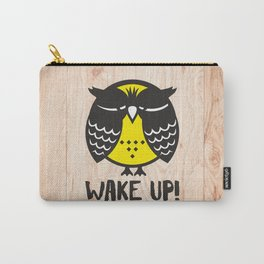 Owl. Wake up! Carry-All Pouch