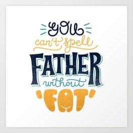 Dadbod Art Print