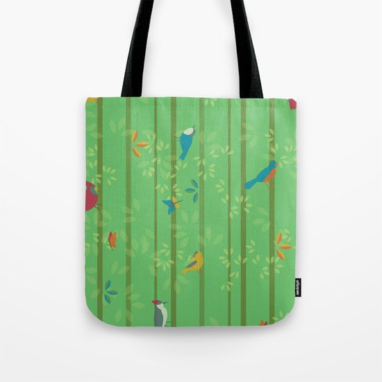 Hello Birdies Tote Bag
