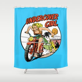 Herstory: Undercover Girl Shower Curtain