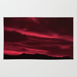 SW Burgundy Sunrise Rug