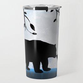 Moon and bears Travel Mug