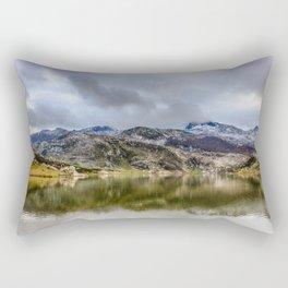 Lakes of Covadonga Rectangular Pillow
