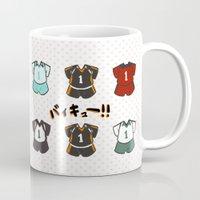 haikyuu Mugs featuring Haikyuu!! Mug by timeflashh
