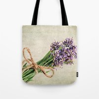 lavender Tote Bags featuring Lavender by ThePhotoGuyDarren