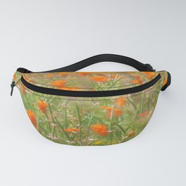 Poppies under the Wind Fanny Pack